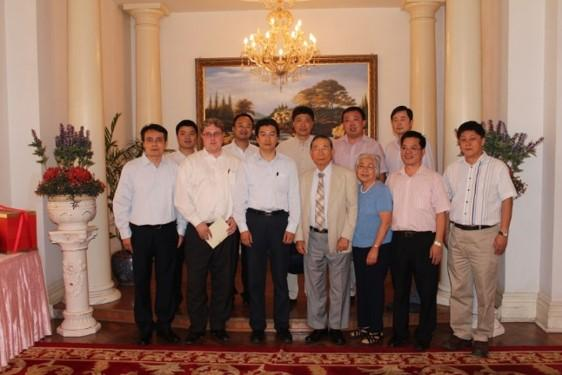 Meeting with Chinese Local Government Leaders, Jiangsu Province